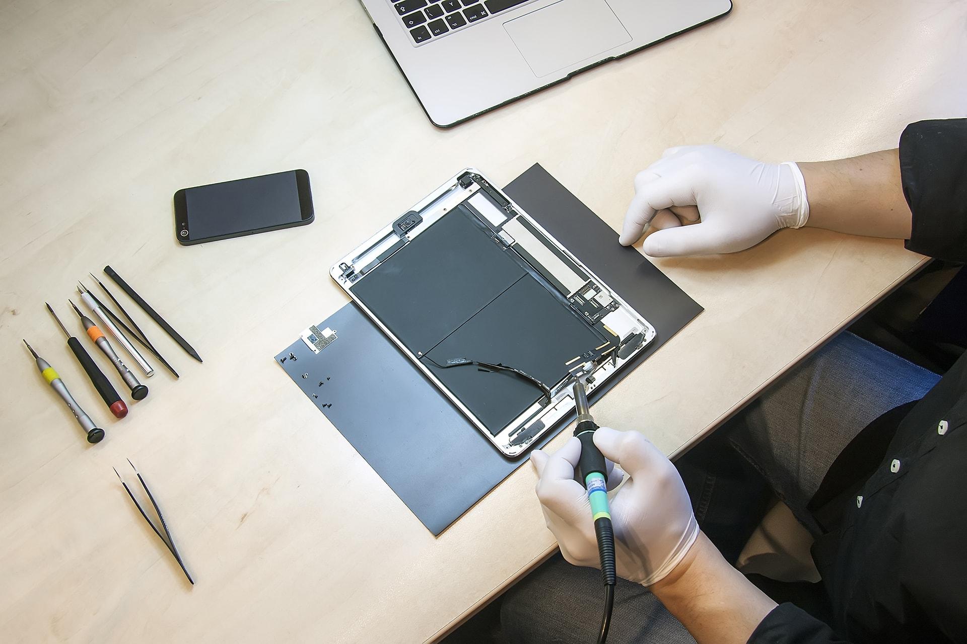 réparation tablettes besançon